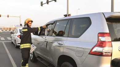 Civil Defence distributing over 1,000 Iftar meals to drivers