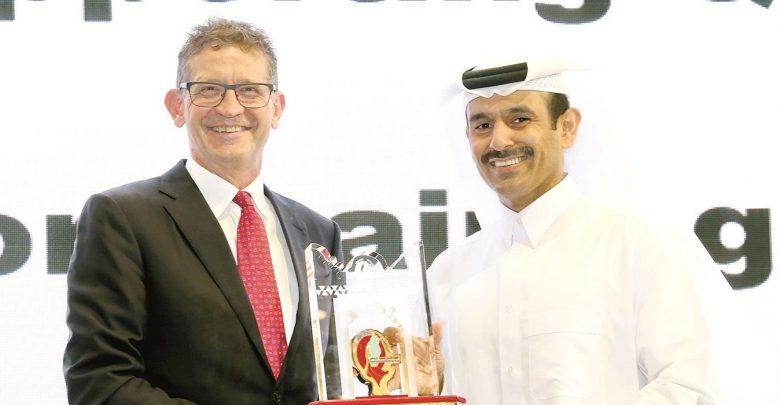 Qatar Shell wins 'Best Qatarisation Progress Crystal Award'