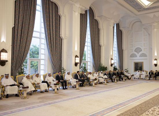 Amir hosts Iftar banquet for Amir Cup winners, runners-up
