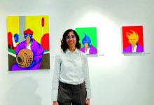 Qatari artist returns from US Residency with solo show