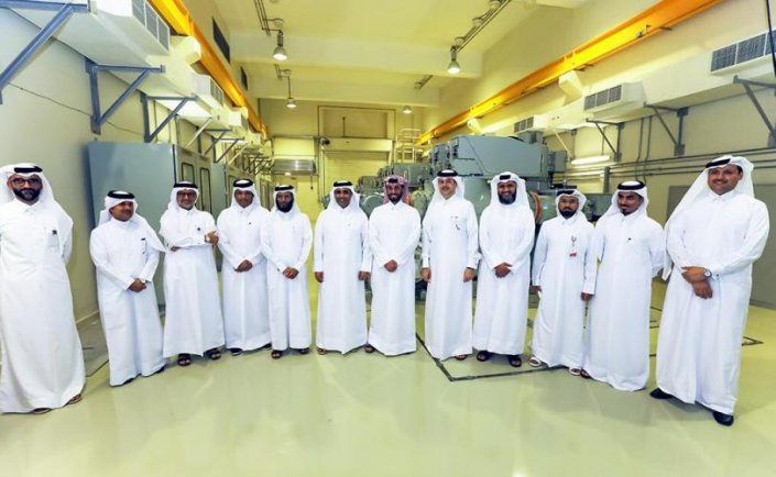 Qatari Diar, Kahramaa celebrate operation of Lusail's power stations