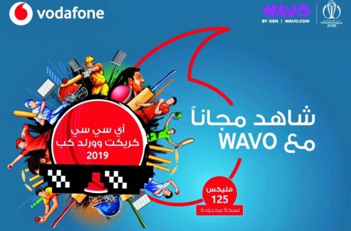 Vodafone Qatar's Flex woos cricket World Cup fans