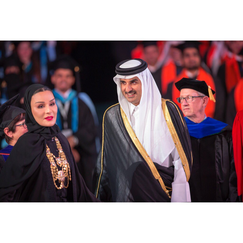 Sheikha Moza presents Akhlaquna Award