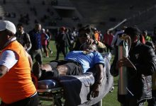 Watch .. The moment a referee dies while running a football match