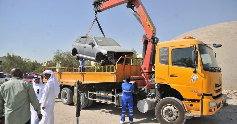 MME removes 61,524 abandoned vehicles from across the country