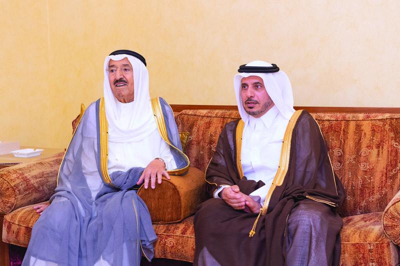 Amir offers condolences to Kuwaiti Amir