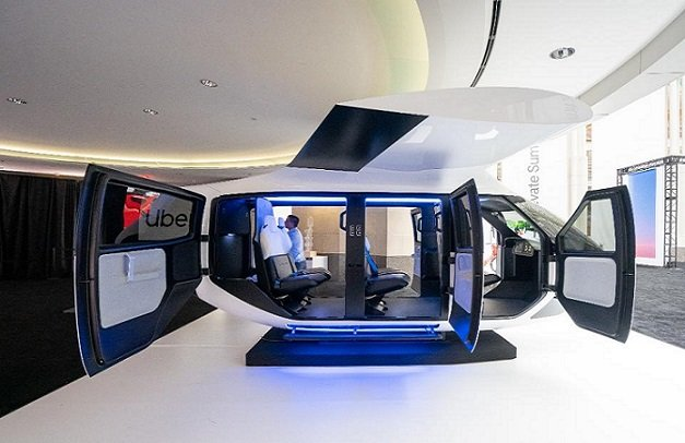 Uber Air Offers First Look Inside Its Flying Taxi