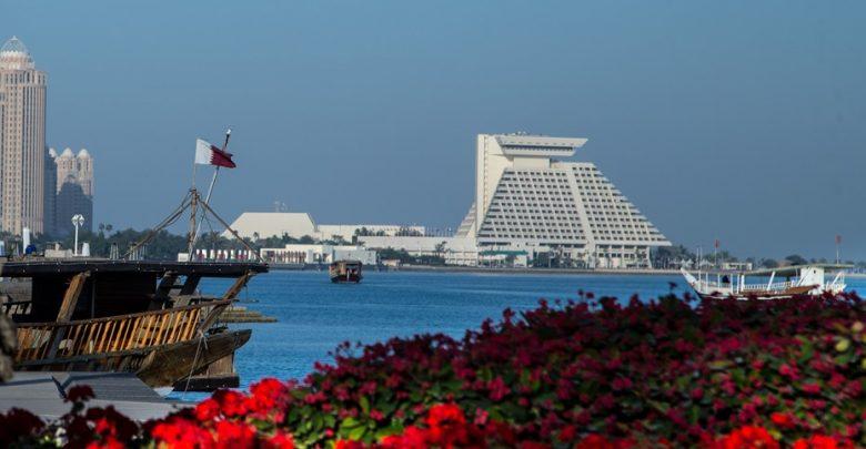 Maximum temperature expected in Doha 43 degrees today 29/6/2019