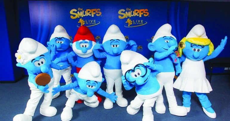 Tickets of 'Smurfs' & 'Hello Kitty' go on sale
