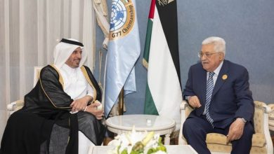Photo of Qatar Prime Minister meets Palestinian president