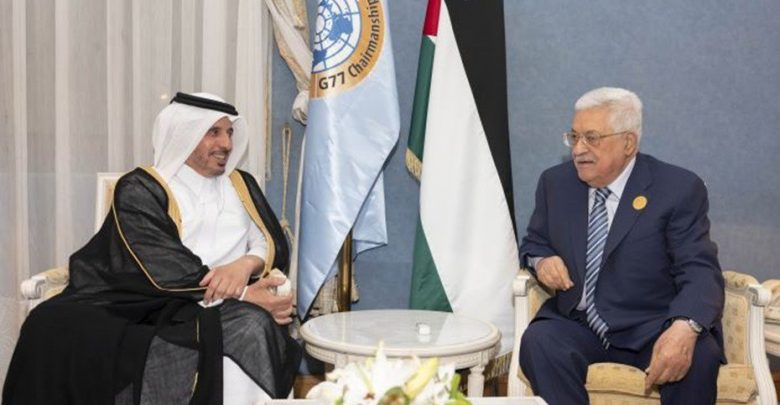 Qatar Prime Minister meets Palestinian president