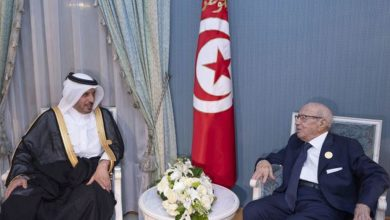 Photo of Tunisian president meets Qatar's Prime Minister