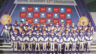 Aspire Academy celebrates graduation of 12th batch