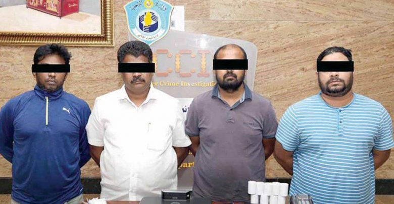 Four arrested in Qatar for credit card forgery