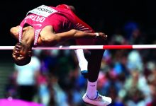 Barshim back in action with win in Poland