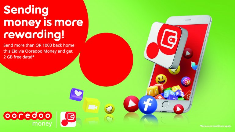 Ooredoo announces free data promotion for Ooredoo Money customers this Eid