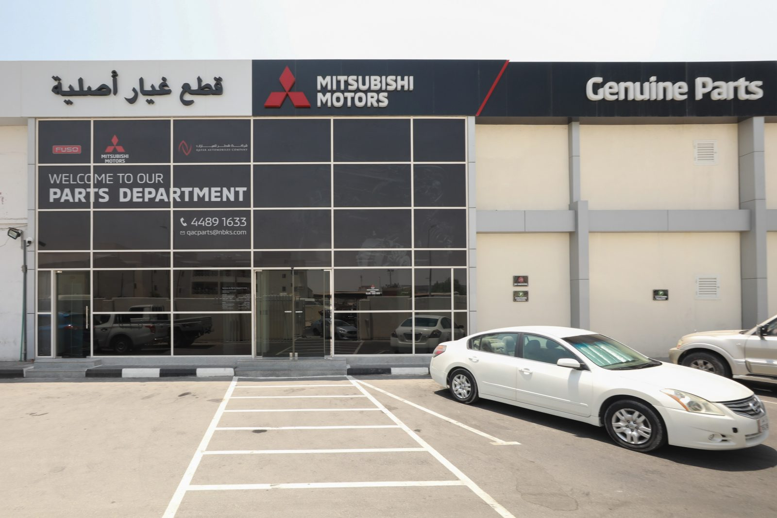 Qatar Automobiles Company to renovate Mitsubishi Workshop and Service Center and opens new dedicated workshop for FUSO in the industrial area