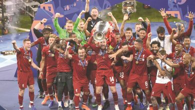 Liverpool wins Champions League title