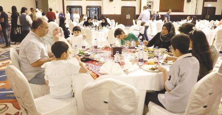Iftar brings together QCS staff