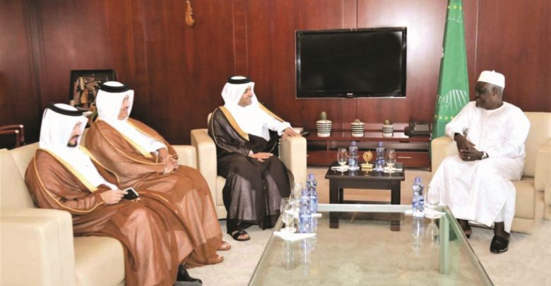 Minister of Foreign Affairs discuss situation in Sudan and Somalia with Chairperson of Commission of African Union