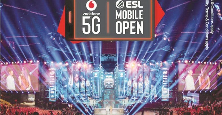 Vodafone and ESL launch world's first international 5G mobile eSports contest
