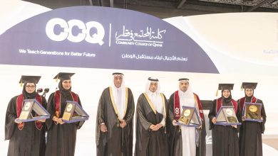 PM attends Community College graduation ceremony