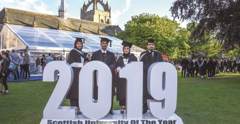 Some AFG College students join peers at Aberdeen convocation