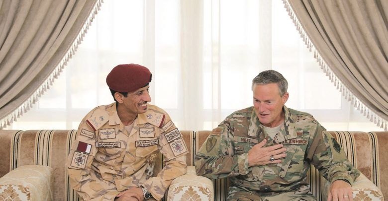 Joint Special Forces commander meets US military official
