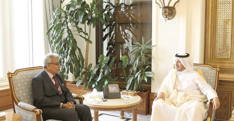 PM meets Malaysian Entrepreneur Development Minister
