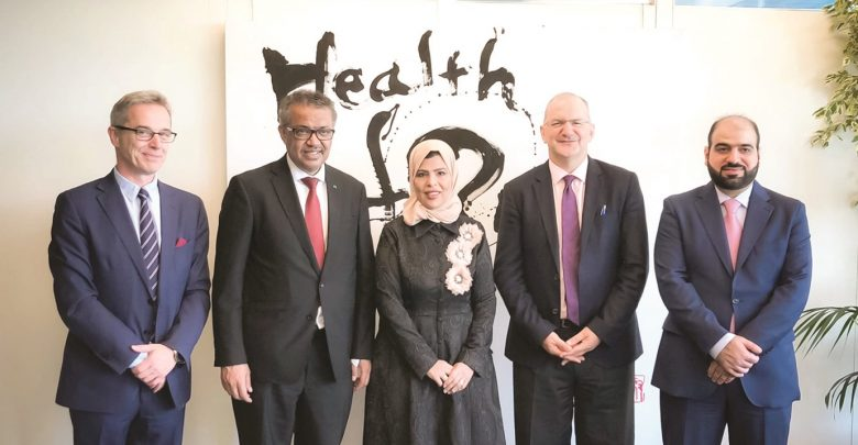 Silatech signs partnership pacts with WHO, UNITAR