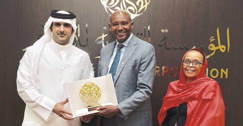 CEO of QMC meets Ethiopian official