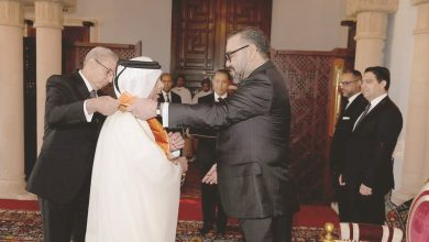 Moroccan king honours Qatar's ambassador
