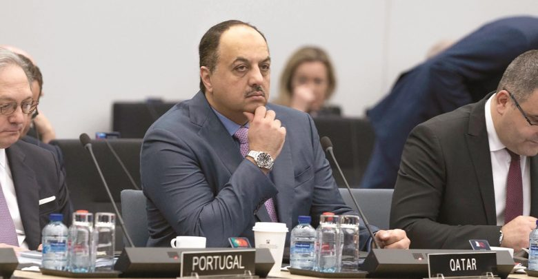 Qatar participates in Nato meeting