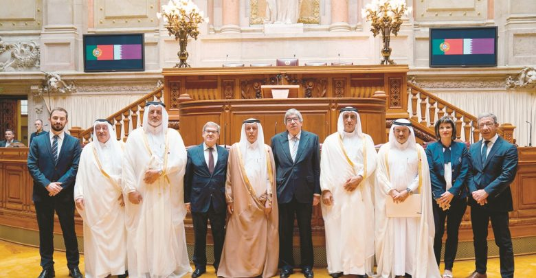 Qatar, Portugal to form parliamentary groups