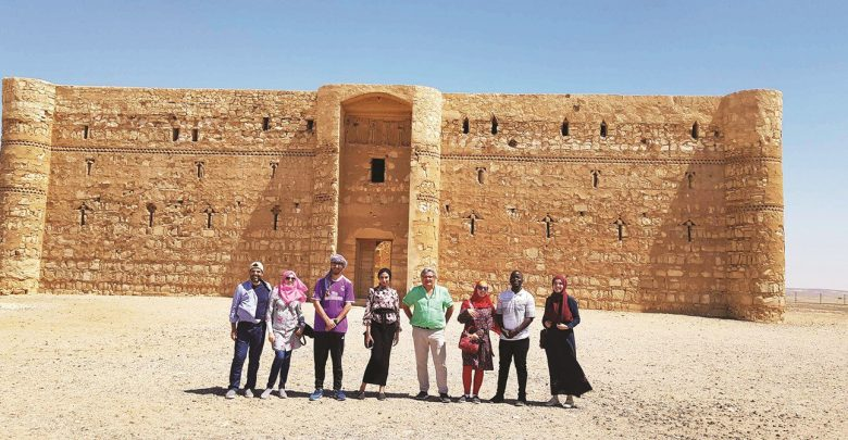 HBKU students learn in depth about Islamic Architecture in Jordan