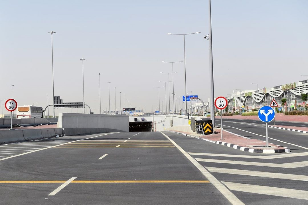 Ashghal opens new tunnel for traffic on Industrial Area Road