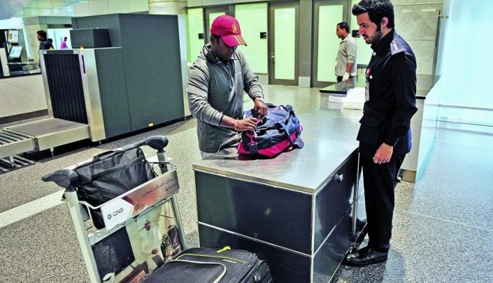 Customs provides exemptions for those coming to Doha