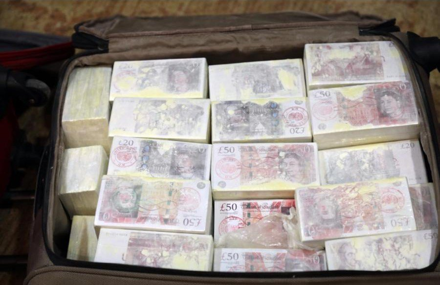 MoI seizes four bags of counterfeit currency; seven arrested