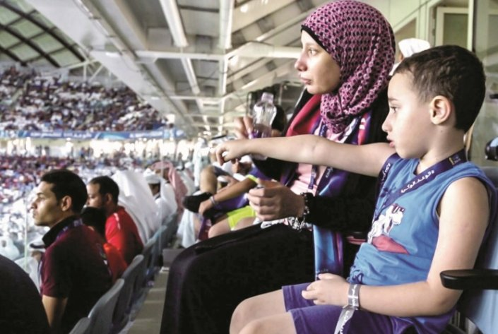 'Groundbreaking' sensory room at Al Janoub Stadium proves a success