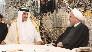 His Highness exchanges views on recent events with the Turkish President