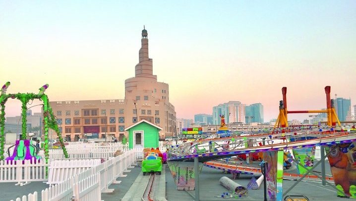 Souq Waqif Eid festivities draw thousands of visitors