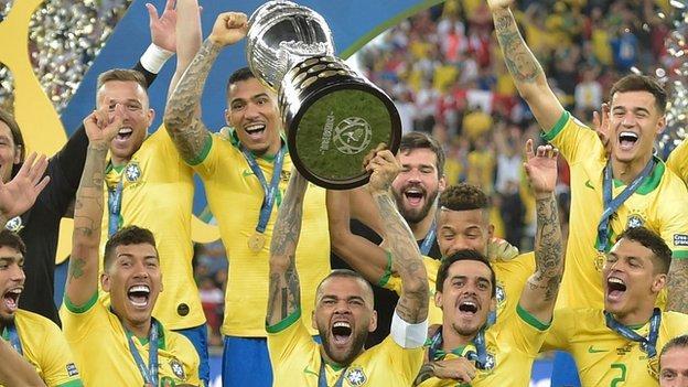 Brazil win Copa America with a 3-1 victory over Peru