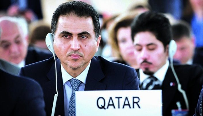 Qatar stresses continued support to Palestinian people