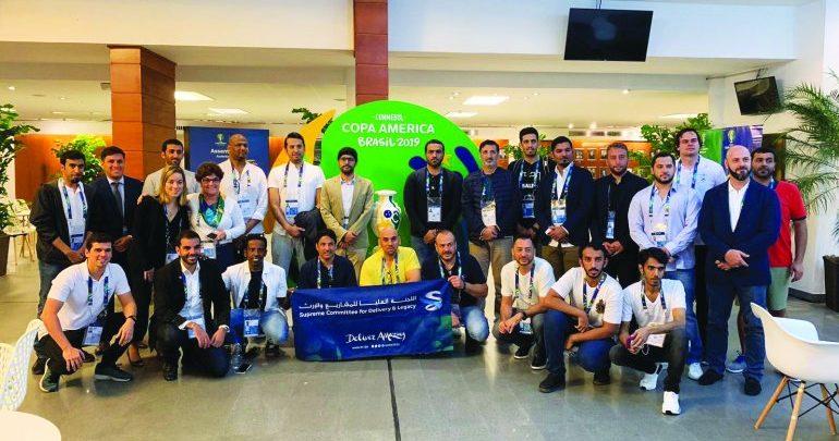 SC's envoy learn mega-event experience at Copa America ın Brazil
