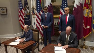 Qatar Amir, US President witness signing agreements & MoUs
