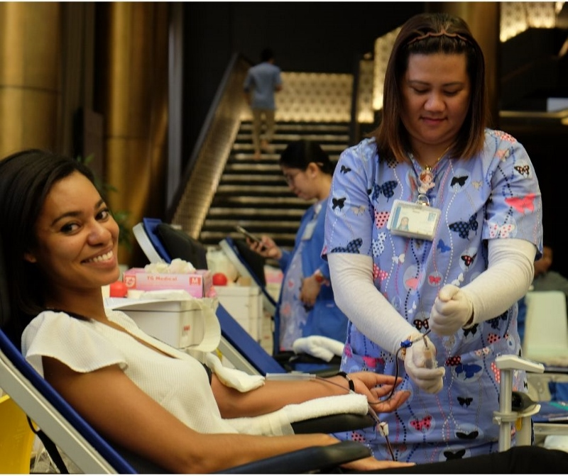 THE WESTIN DOHA HOLDS BLOOD DONATION IN COLLABORATION WITH HAMAD MEDICAL CORPORATION