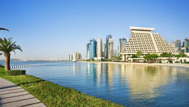 The maximum expected temperature in Doha is 42 ° C