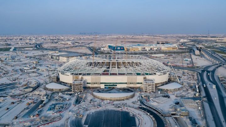 Magnificent Al Rayyan Stadium rapidly taking shape