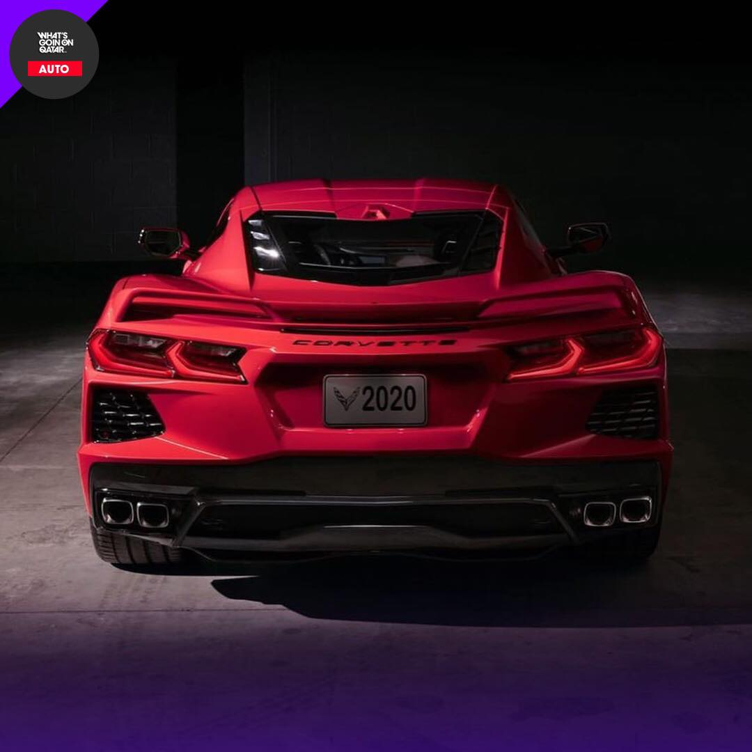 Supercar The 2020 Corvette C8 Stingray!