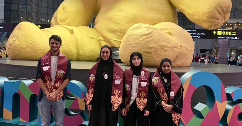Students from Qatar participate in Chemistry Olympiad in France